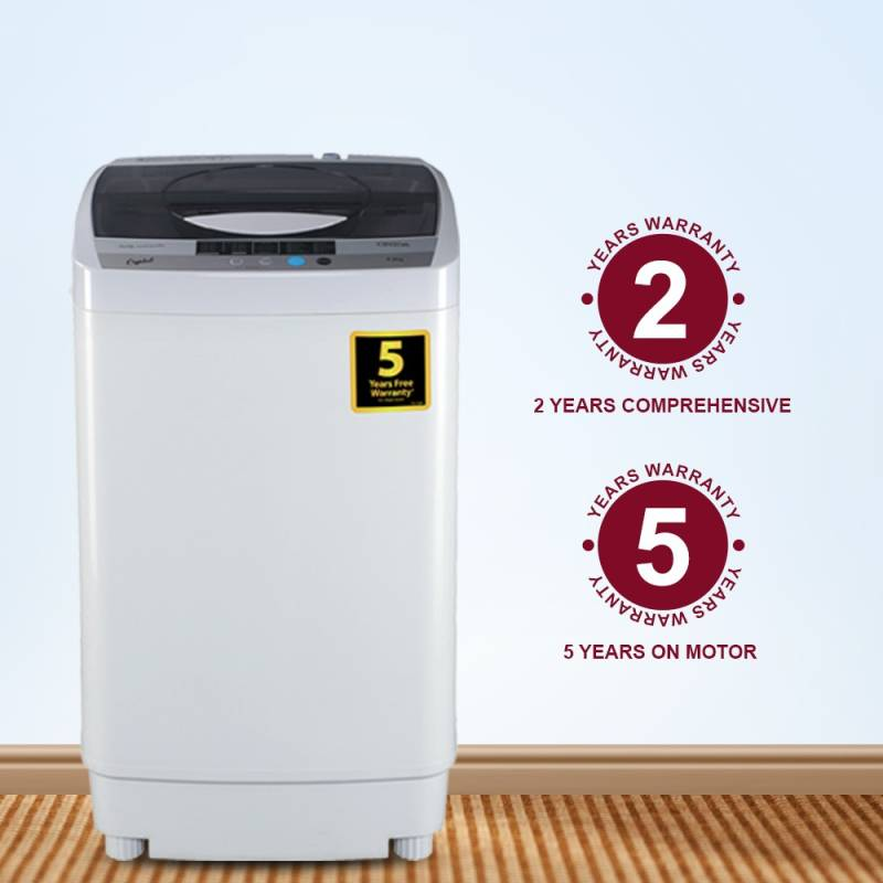Onida 6.2 kg Fully Automatic Top Load Washing Machine  (CRYSTAL)