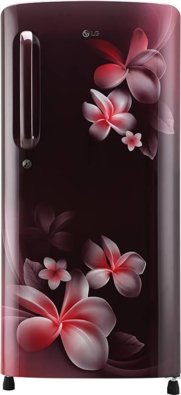 LG 190 L Direct Cool Single Door 5 Star Refrigerator ( GL-B201ASPY)