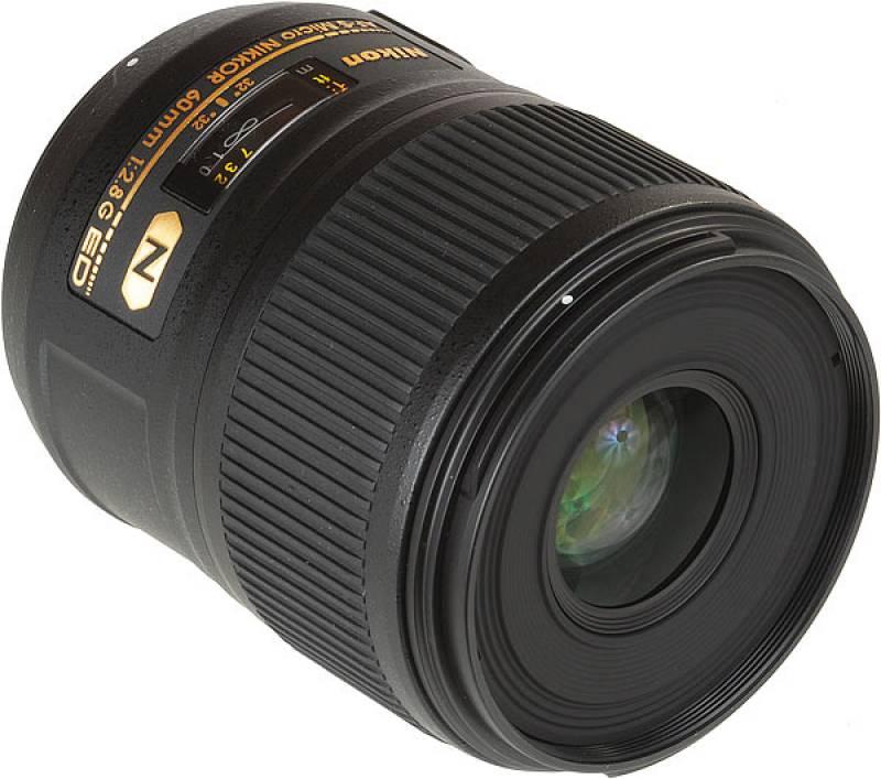 Nikon AF-S Micro Nikkor 60mm Lensf - 2.8g Ed