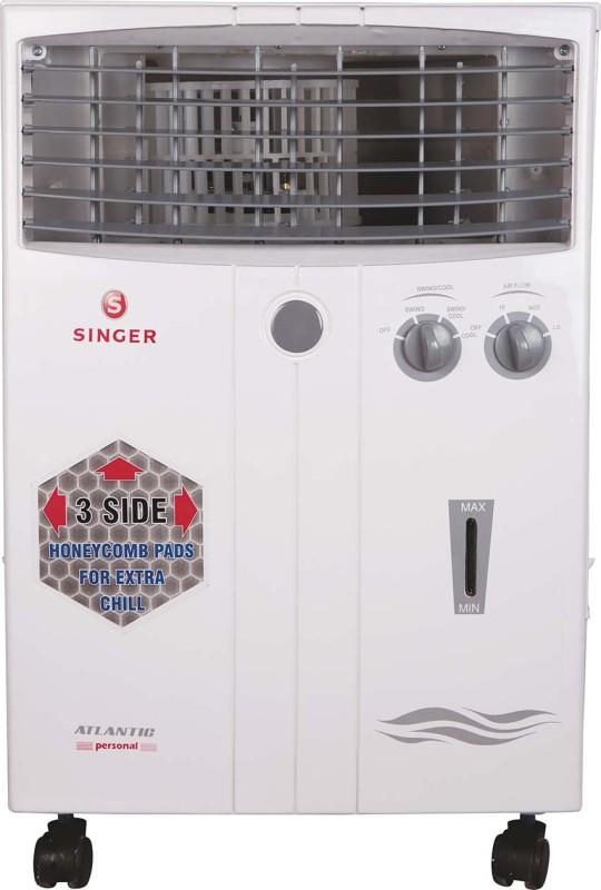 Singer 20 L Room/Personal Air Cooler(White, Atlantic Personal)