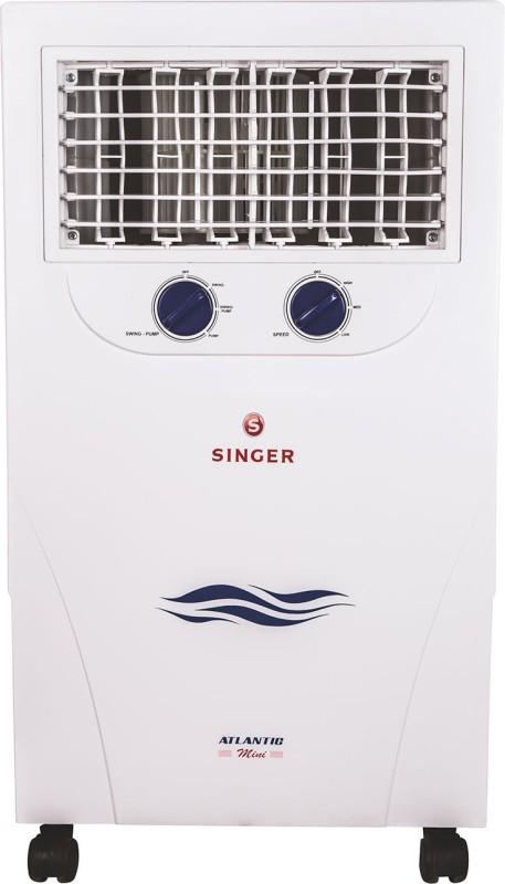 Singer 20 L Room/Personal Air Cooler(White, Atlantic Mini)