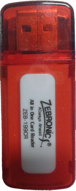 Zebronics ZEB-199 CR Card Reader(Red)