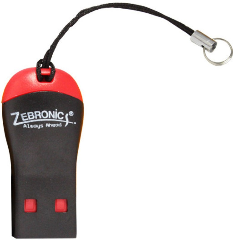 Zebronics 09CR Card Reader(Black, Red)