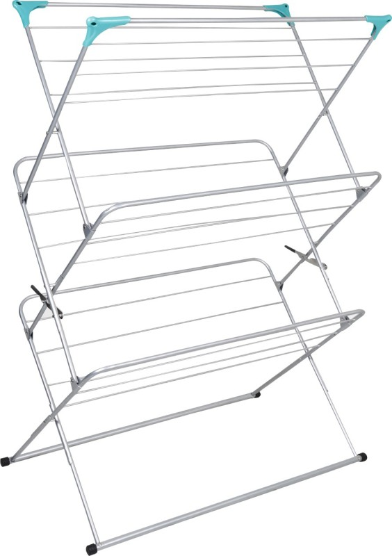 Peng Essentials Colossal Steel Floor Cloth Dryer Stand(Grey)