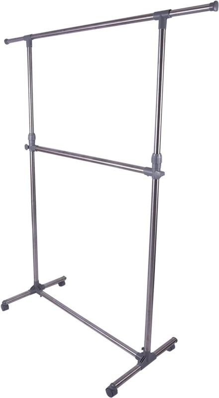 Brecken Paul Stainless Steel Floor Cloth Dryer Stand(Silver)