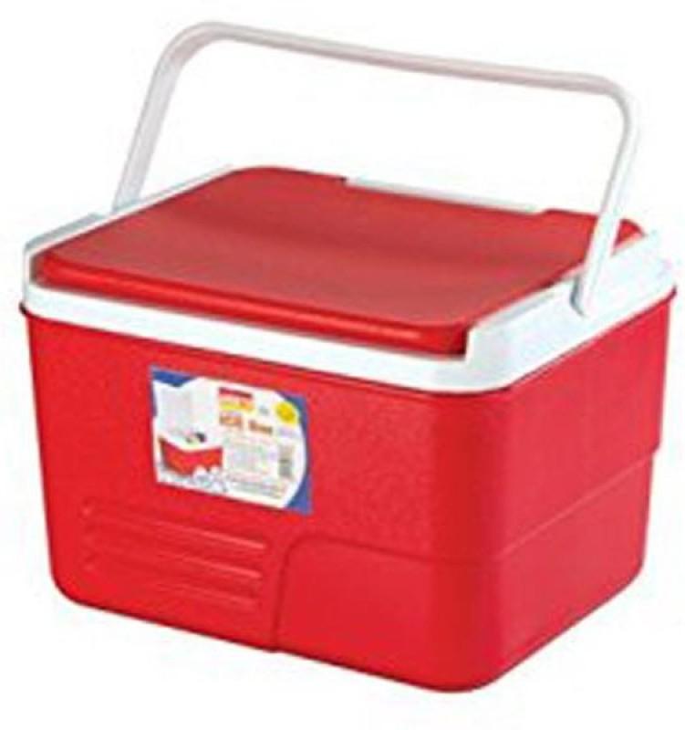 Aristo Insulated Ice Box(Red, 14 L)