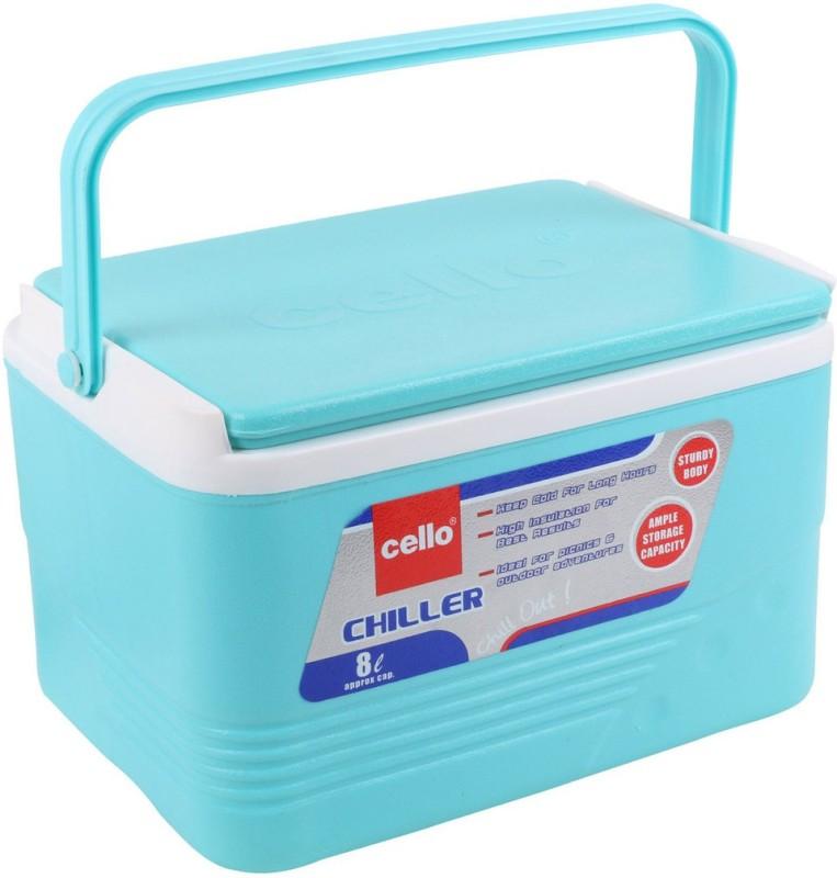 Cello Chiller Ice Box(Green, 12 L)