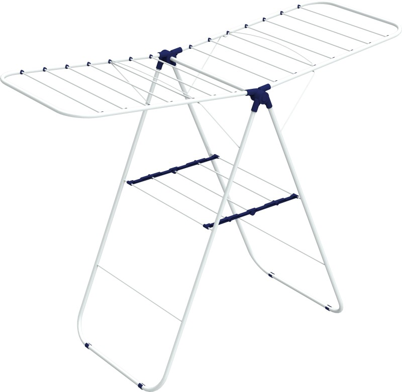 Gimi Steel Floor Cloth Dryer Stand(White)