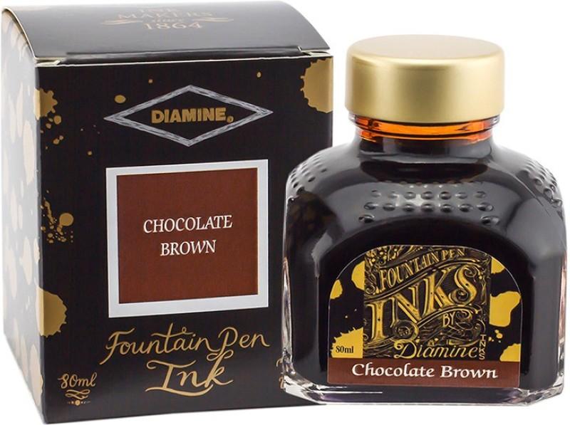 Diamine CHOCOLATE BROWN 80 ML Ink Bottle