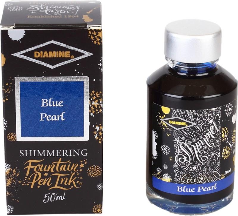 Diamine BLUE PEARL SHIMMER 50 ML Ink Bottle