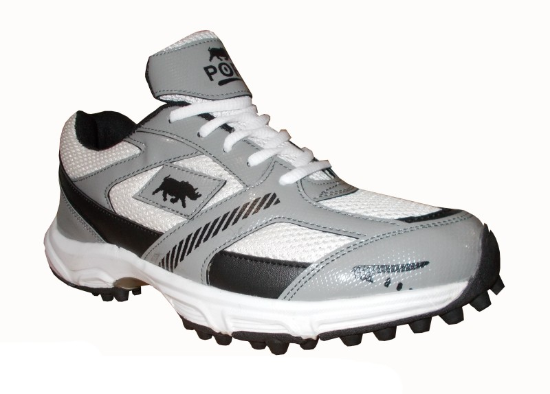 Port Bowlers Cricket Shoes For Women(Multicolor)
