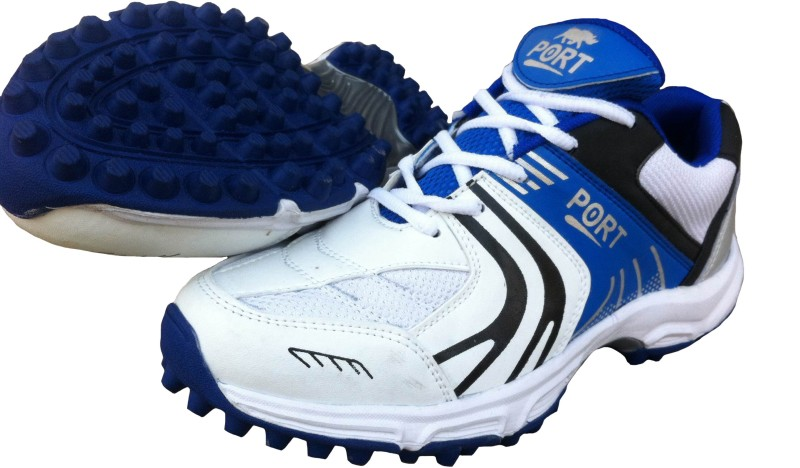 Port Bowlers Cricket Shoes For Women(White)