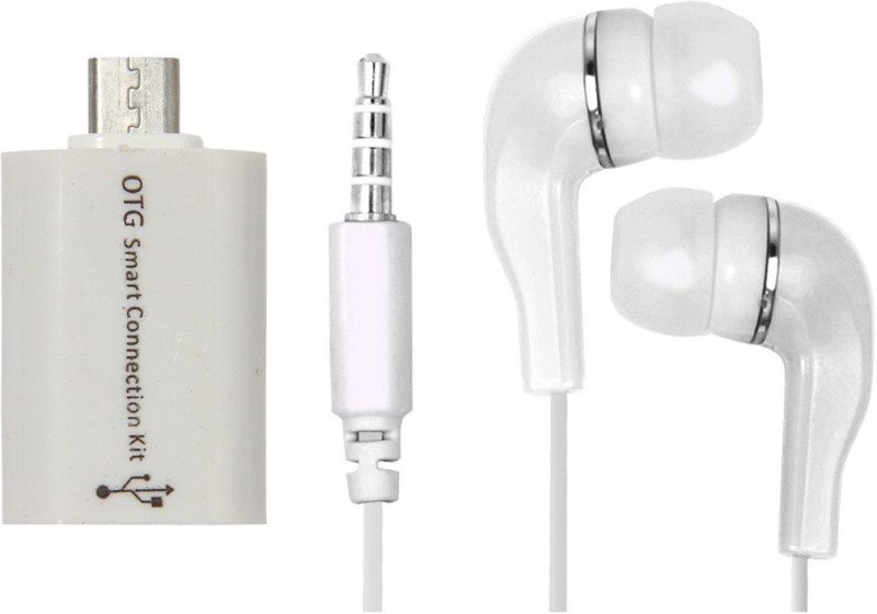 Mocell Headphone Accessory Combo for Redmi Note 4(White)