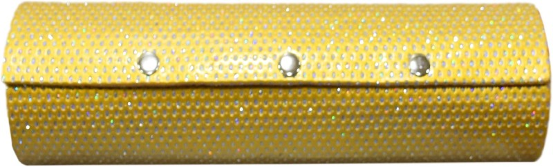 pride star Rolly to store bangles & cosmetic items Vanity Box(Golden)