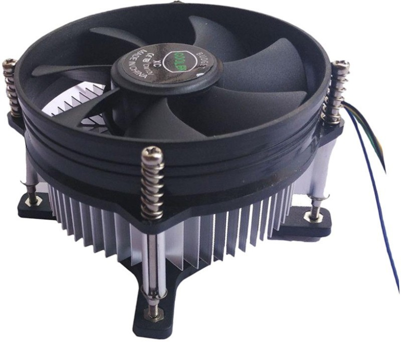 Terabyte  TV-out Cable CPU fan Cooler and heat-Sink Cooling Fan(Black, For Computer)
