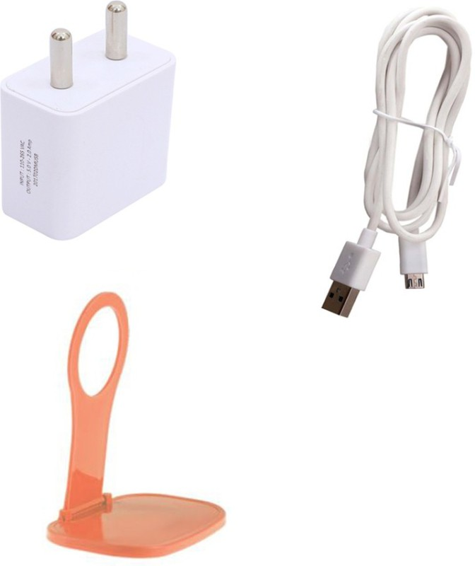 Trost Wall Charger Accessory Combo for Redmi Note 4(Multicolor)
