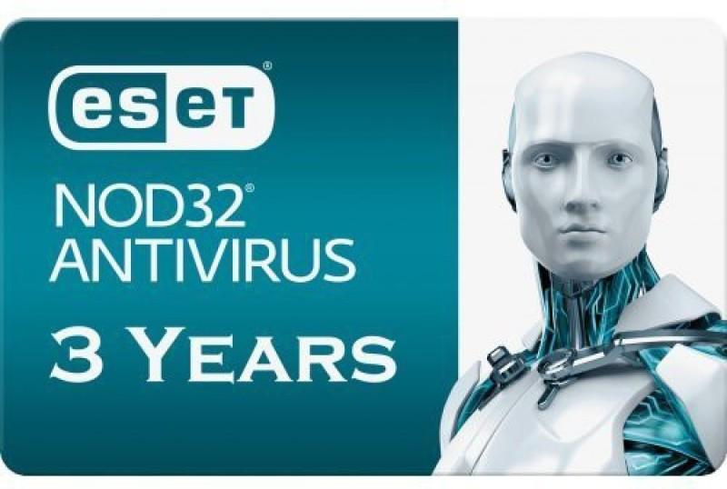 ESET Anti-virus 1.0 User 3 Years(Voucher)