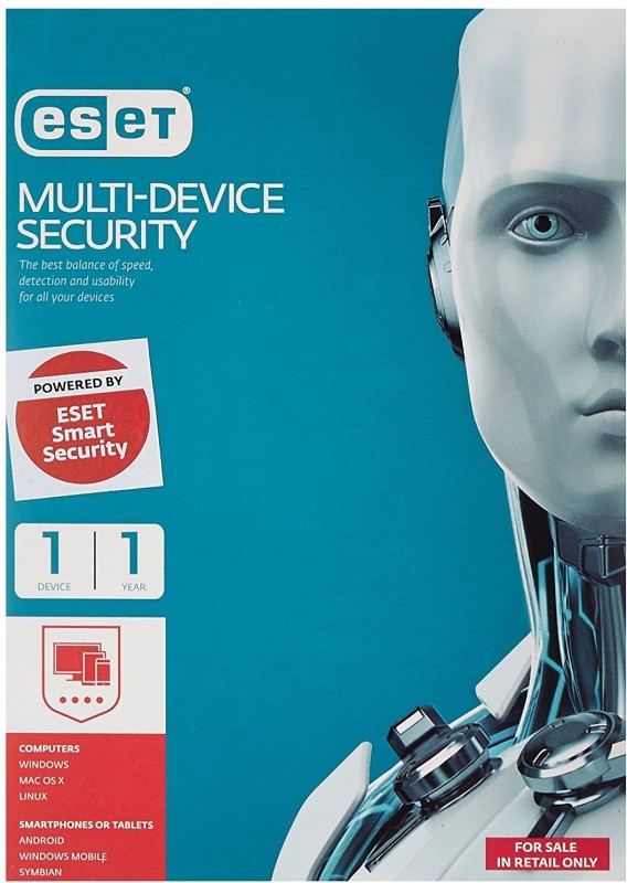 ESET Total Security 1.0 User 1 Year(CD/DVD)