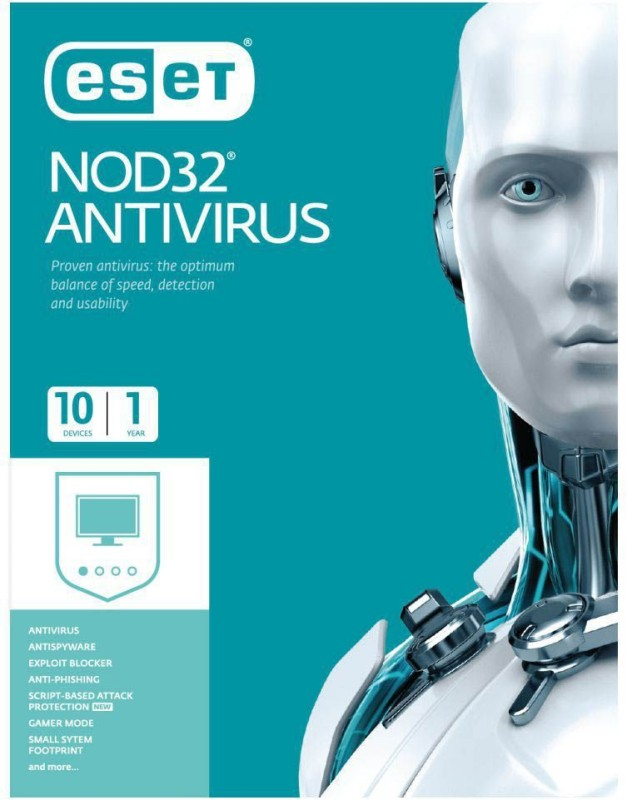 ESET Anti-virus 10.0 User 1 Year(CD/DVD)