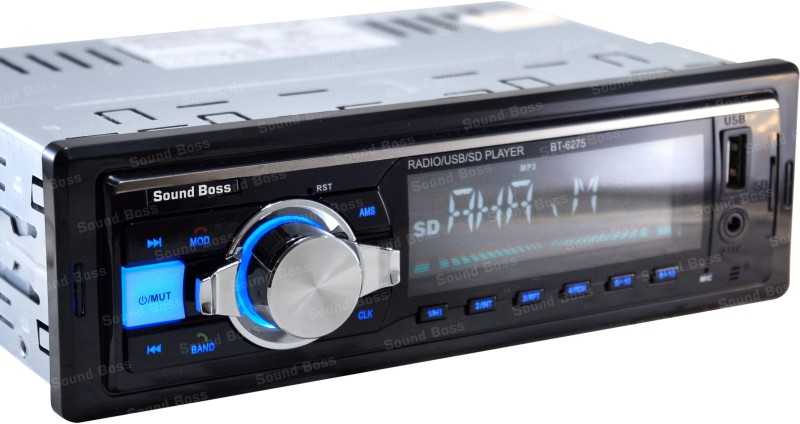 Sound Boss SB-6275BT Bluetooth Wireless With Phone Caller Id Receiver Car Stereo(Single Din)