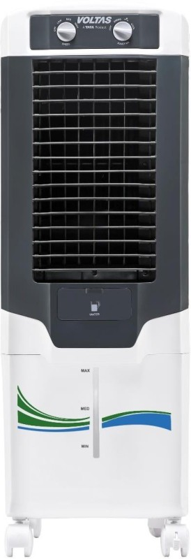 Voltas 35 L Tower Air Cooler(White, VM-T35MH)