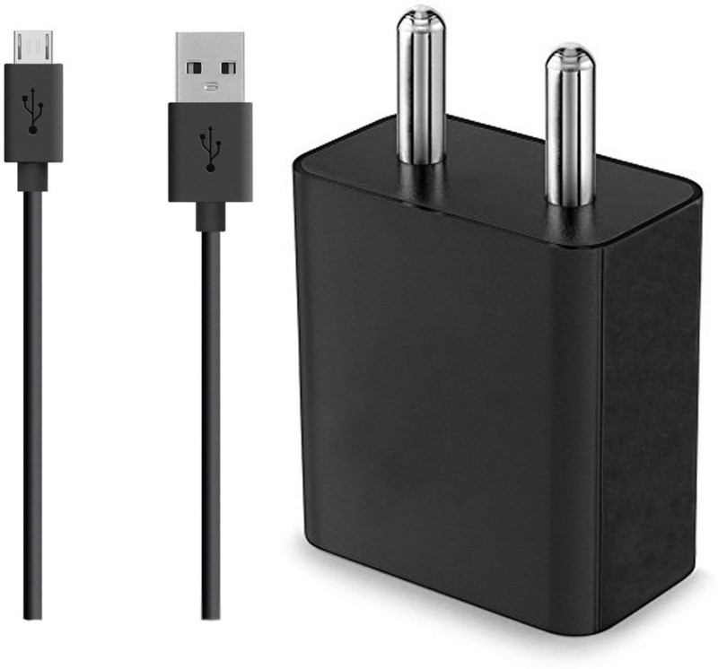 ShopMagics 6 Power, 2 A Mobile Charger with Detachable Cable(Black)