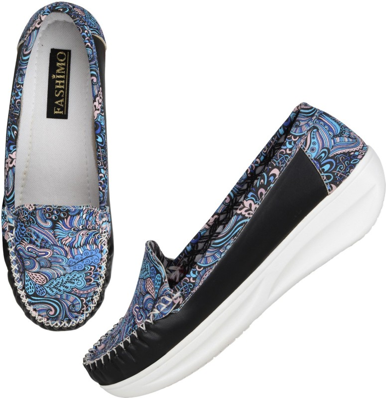Fashimo MS4-black Casuals For Women(Black)