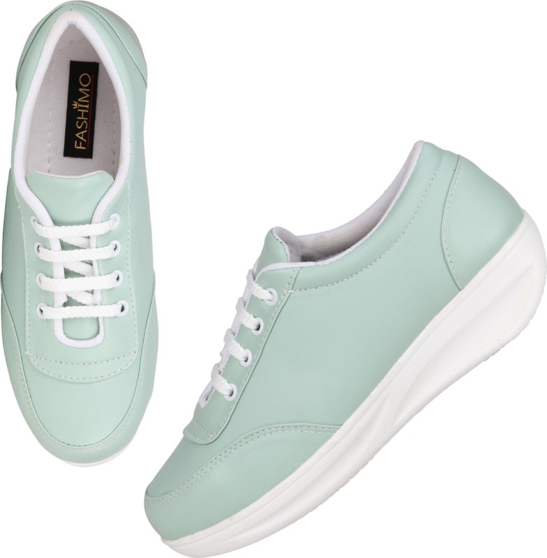 Fashimo MS3-pista Sneakers For Women(Natural)