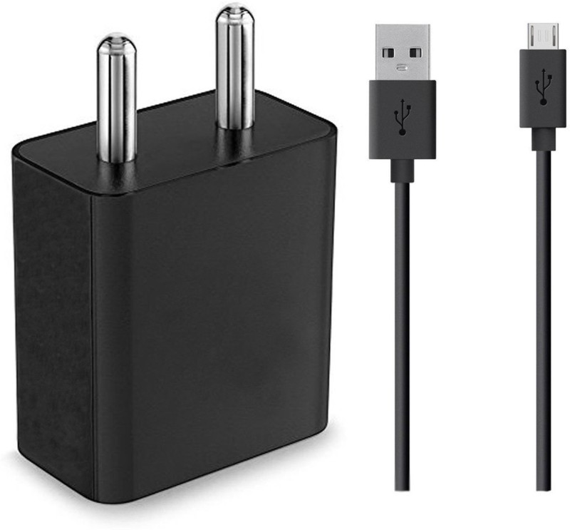 ShopReals V3 2 A Mobile Charger with Detachable Cable(Black)