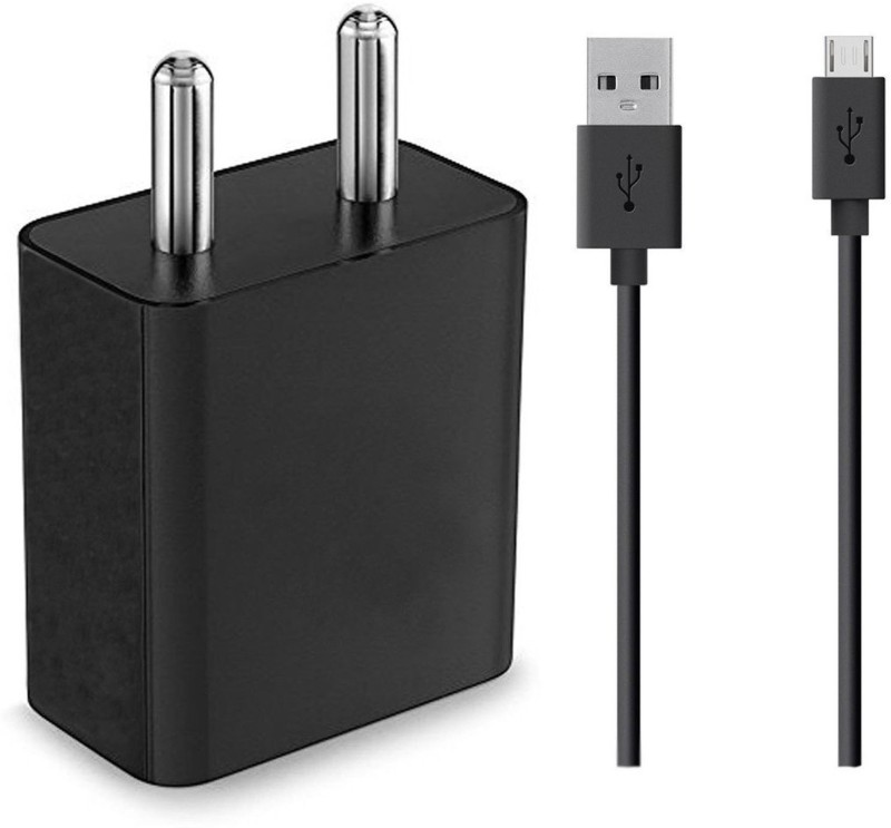 ShopReals Galaxy On8 2 A Mobile Charger with Detachable Cable(Black)