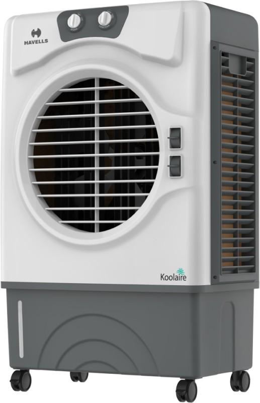 Havells 51 L Desert Air Cooler(White, Grey, Koolaire Honeycomb)