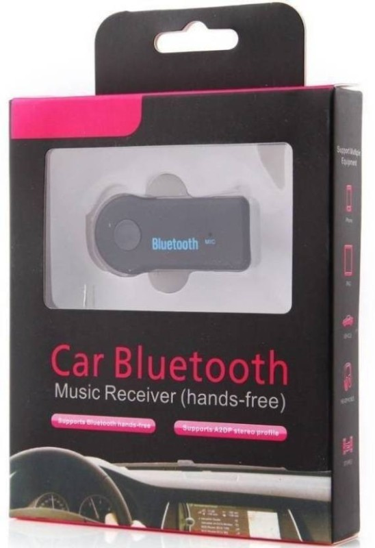 AFRODIVE v3.0 Car Bluetooth Device with 3.5mm Connector, Audio Receiver(Black)