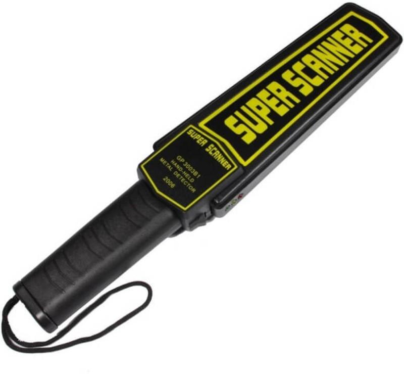 Iktu Hand Held Metal Detector Super Scanner With Beep Vibrator Security Patrol Scanner, Security Guard Alarm Equipment Advanced Metal Detector