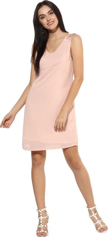 Heather Hues Women Shift Pink Dress