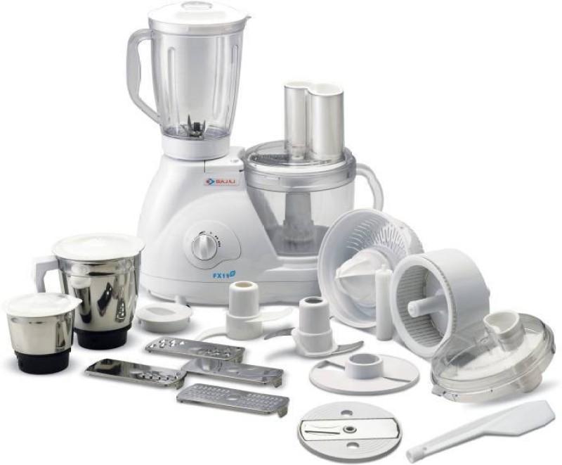 Bajaj Master chief 3.0 600 W Food Processor(White)