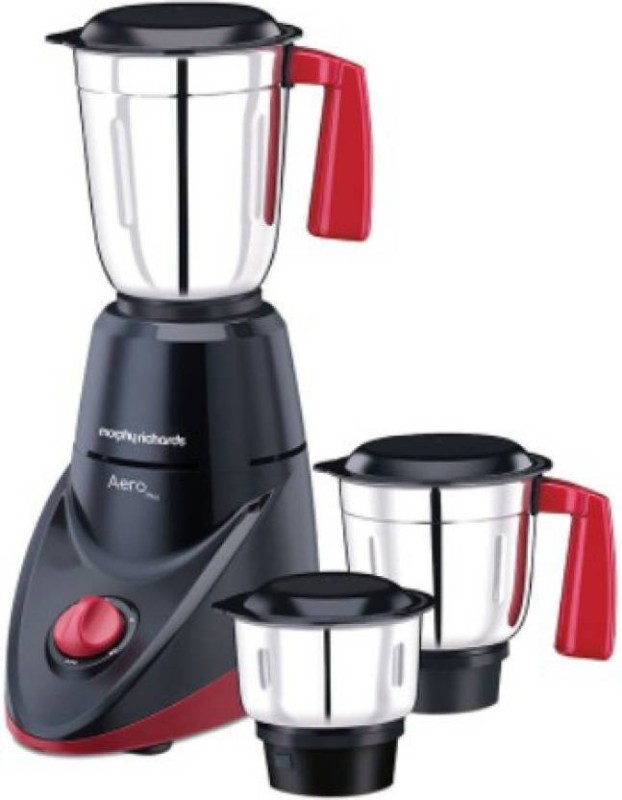 Morphy Richards AERO PLUS MIXER GRINDER 500 W Mixer Grinder(White, 3 Jars)