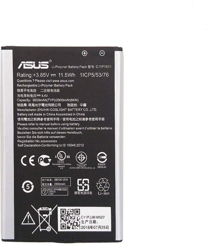 Asus Mobile Battery For ASUS Asus Zenfone 4 A400 CG- C11p1404