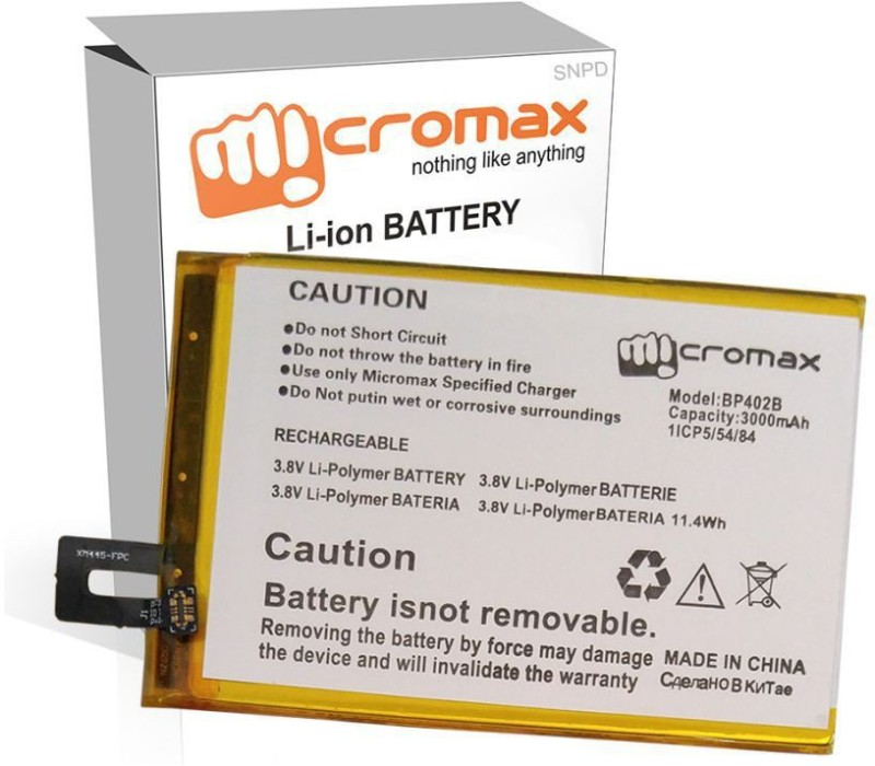 Micromax Mobile Battery For Micromax X344