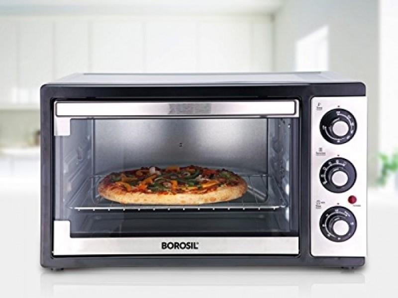Borosil 19-Litre BOTG19CS11 Oven Toaster Grill (OTG)(SILVER)