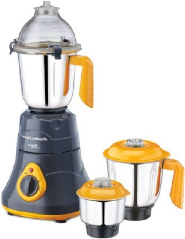 Morphy Richards NEW primo classique 750 W Mixer Grinder(Grey ,Orange, 3 Jars)