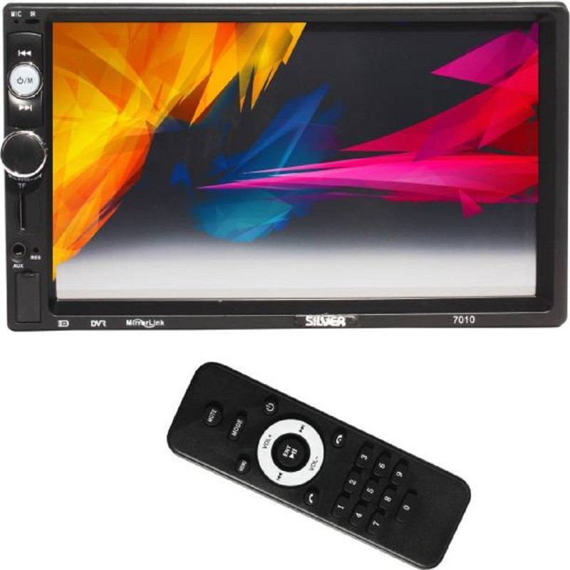 """Silver 7"""" Double Din with GPS ANDROID Car Stereo(Double Din)"""