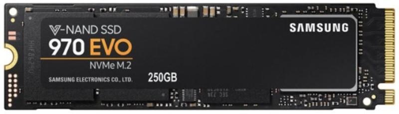Samsung 970 Evo Series - pcie nvme - M.2 Internal 250 GB Laptop, Desktop Internal Solid State Drive (mz-v7e250bw)