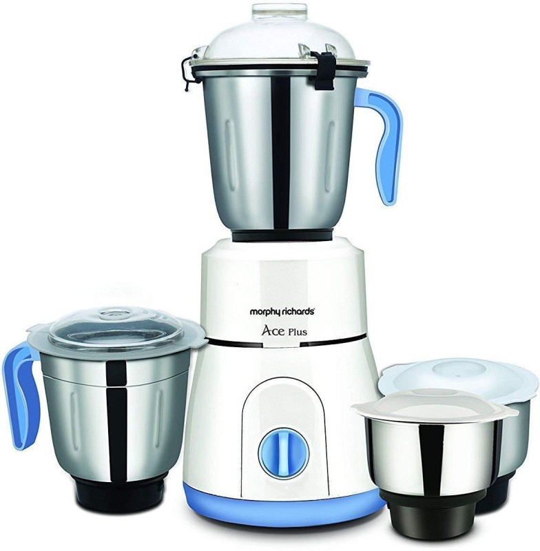 Morphy Richards ace Ace Plus 750 W Mixer Grinder(White, 3 Jars)