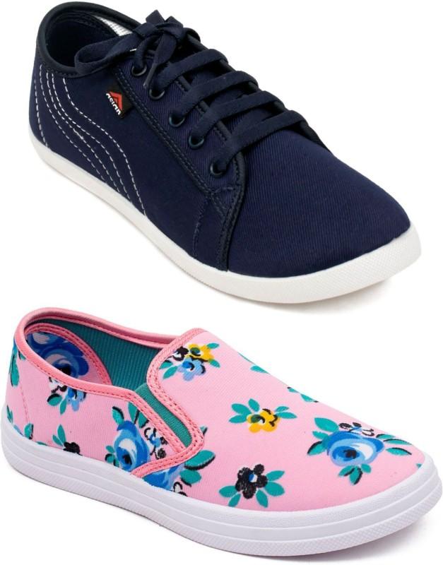 ASIAN Sneakers For Women(Navy)