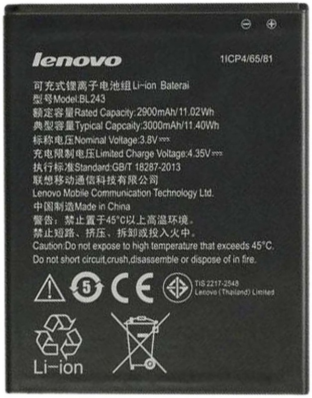 Lenovo Mobile Battery For  Lenovo K3 Note & A7000