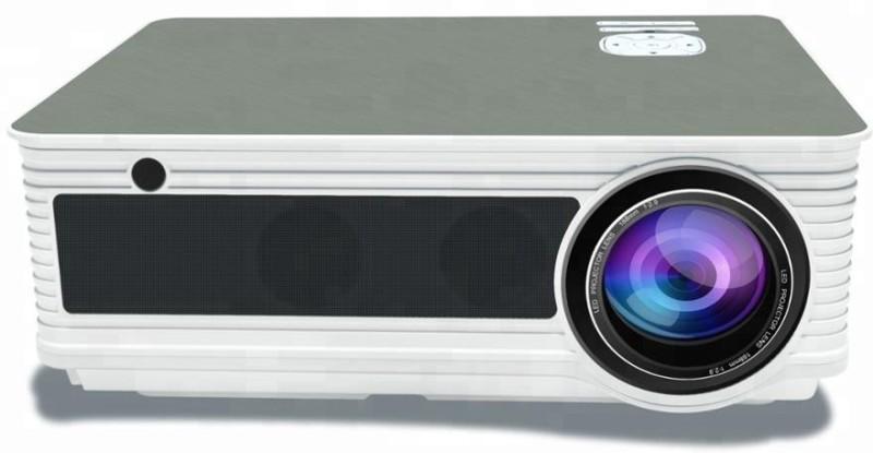 jambar 4500 Lumens Projector(White Silver)