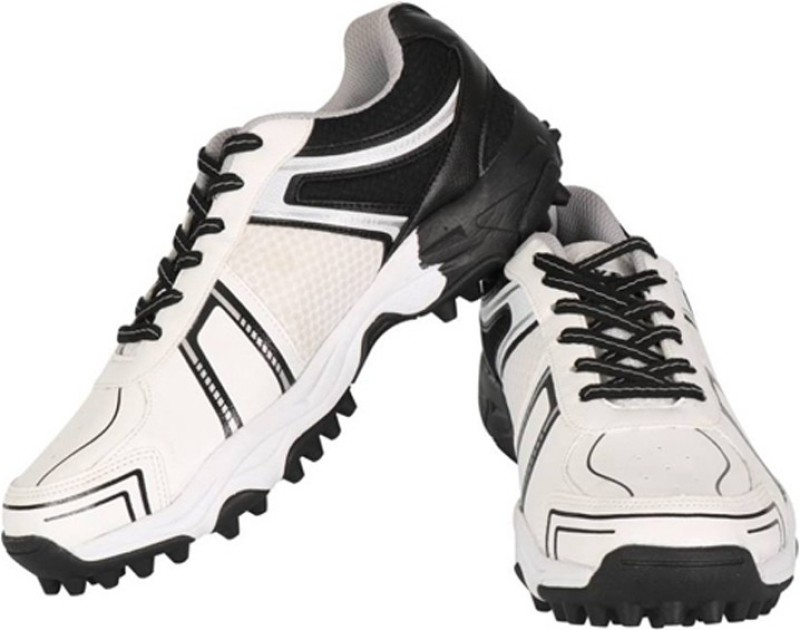 Vector X Target Cricket Shoes For Women(White, Black)