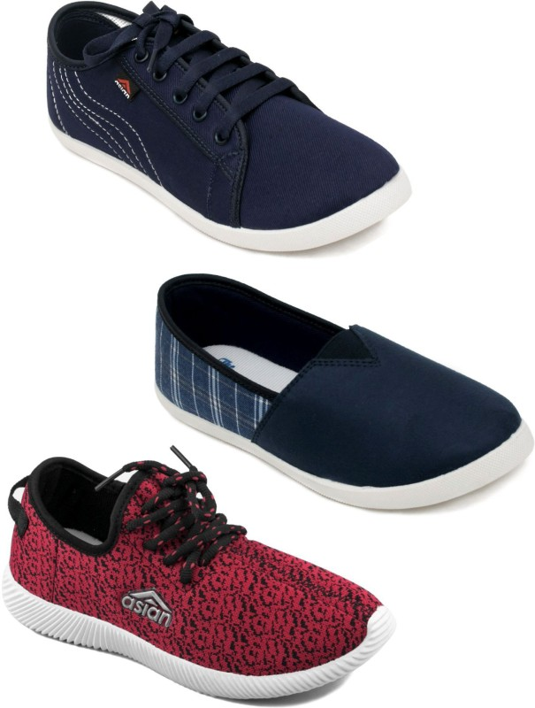 ASIAN Sneakers For Women(Multicolor)