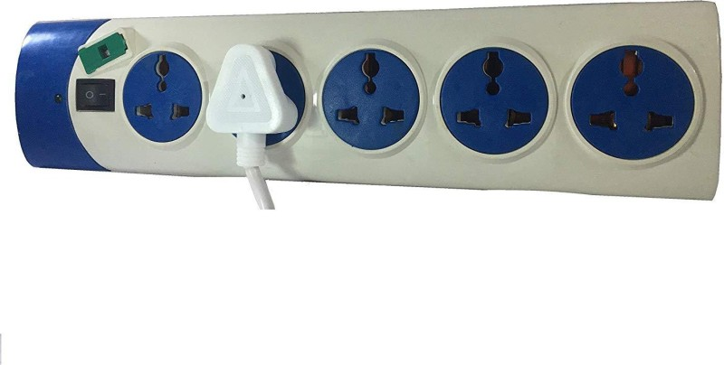 Ever Forever Multi with 1 Switch & 5  Socket Extension Boards(White)