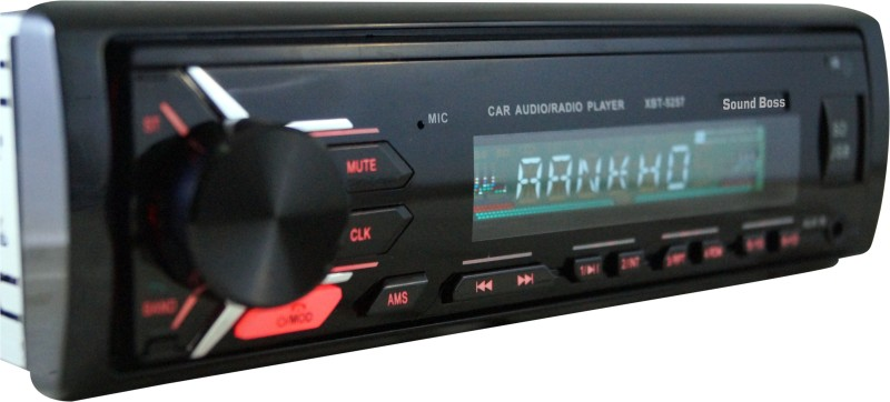 Sound Boss Sb-28 Bluetooth Wireless With Phone Caller Id Receiver Car Stereo(Single Din)